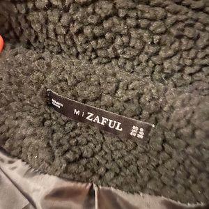 Zaful Jackets & Coats - black teddy coat